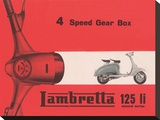 Lambretta 4 Speed Gear Box