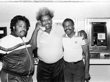 Activist Al Sharpton  Boxing Promoter Don King  and Singer Billy Preston  1988