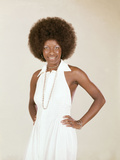 Famed Singer Natalie Cole Is Photographed  June 1973