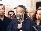 Rev Al Sharpton Release from the Metropolitan Detention Center in Brooklyn  Ny  2001