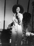Acclaimed Vocalist Natalie Cole Performing  1976