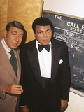 Muhammad Ali with Howard Cosell Backstage  July of 1975