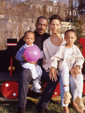 Eddie Murphy and Family   April 1994  New Jersey Home