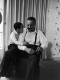 Thurgood Marshall with Son John Marshall