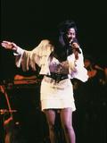 Famed Singer Natalie Cole  Concert  1988