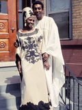 Famed South African Singer Miriam Makeba  with New Husband Stokely Carmichael  May 1968