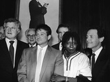 Whoopi Goldberg and Her Comic Relief Cohorts  March 12  1986