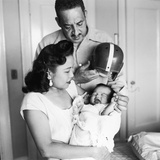Thurgood and Cecelie Marshall  Welcome their First Son  Thurgood Jr into the World  1956