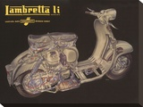 Lambretta Li Cutaway
