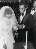 Sugar Ray Leonard and Longtime Sweetheart Juanita Wilkinson Wedding Ceremony  January 19  1980