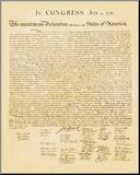 Déclaration d'Indépendance Reproduction montée