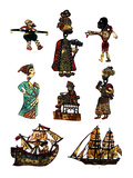 Traditional Turkish Shadow Puppets