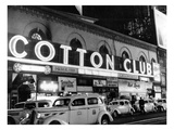 Harlem Cotton Club  New York City