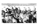 The Gunpowder Plotters Conspiring