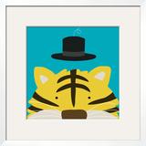 Peek-a-Boo XI  Tiger