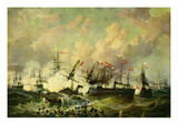 The Sea Battle at Lissa  20 July 1866