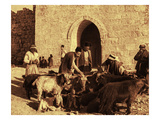 Market at Herod's Gate