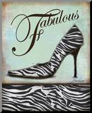 Zebra Shoe Reproduction montée par Todd Williams