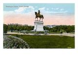 Boston: Washington Statue