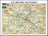 Le Métro de Paris Reproduction montée