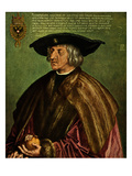 Kaiser Maximilian I Holding a Pomegranate