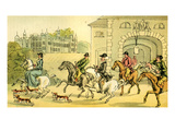 'A Noble Hunting Party'