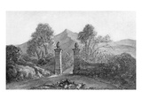 Johann Wolfgang Von Goethe's Sketch of Garden Gates