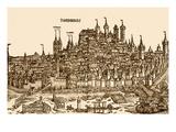 Nurnburg View in the 15th Century