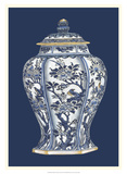 Blue &amp; White Porcelain Vase II