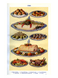Mrs Beeton's Cookery Book - Cooked Fish Dishes