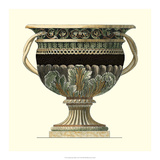 Crackled Large Giardini Urn II