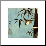 Sans titre Reproduction montée par Ando Hiroshige