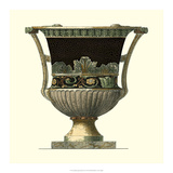 Crackled Large Giardini Urn I