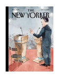 The New Yorker Cover - October 15  2012