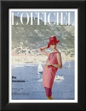 L'Officiel  June 1963 - Ensemble de Plage de Pierre Cardin en Toile Malouine de Ducharne