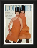 L'Officiel  September 1966 - Manteau et Robe de Pierre Cardin