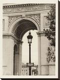 Lamp Inside Arc de Triomphe