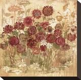 Floral Frenzy Burgundy I