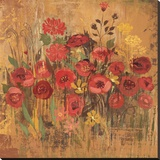 Floral Frenzy Red II