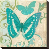 Teal Butterfly I