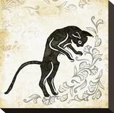 Standing Burlap Cat