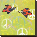 Peace Sign Ladybugs III
