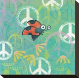 Peace Sign Ladybugs IV