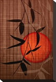 Bamboo and Red Sun II