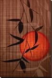 Bamboo and Red Sun II