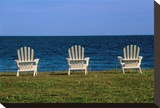 Chairs by the Ocean II