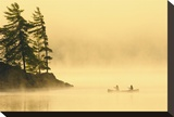 Canoeing in the Fog