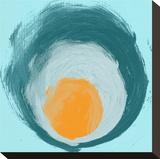 Aqua Blue Orange Elements