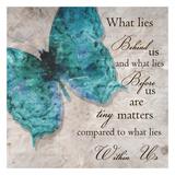 Blue Butterfly I