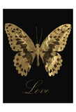 Love Gold Butterfly